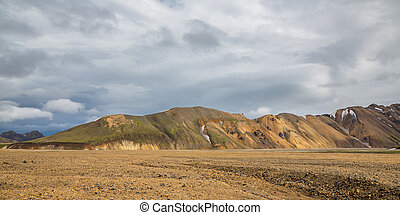 Landmannalaugar unbelievable landscape and clouds in Iceland...