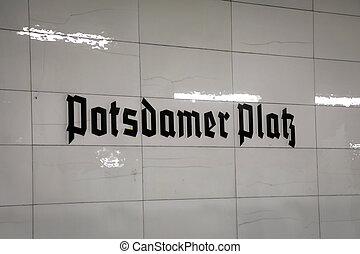 Potsdamer Platz, Berlin - Potsdamer Platz in Berlin, Germany