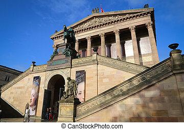 Alte Nationalgalerie, Berlin - The Alte Nationalgalerie on...