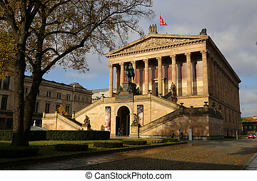 Alte Nationalgalerie, Berlin - The Alte Nationalgalerie on...