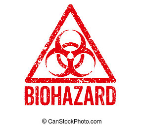 Red Stamp - Biohazard