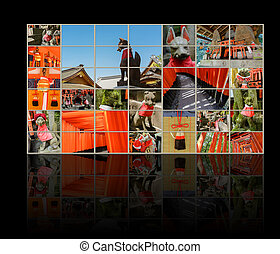 Fushimi Inari Taisha Shrine - Collection of Fushimi Inari...