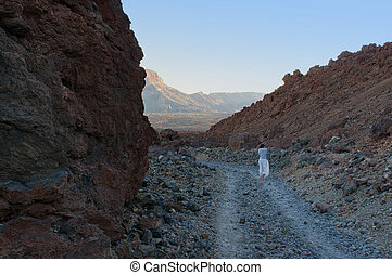 Canary Islands - mountains in the Canary Islands Teide...