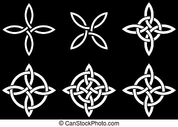 Celtic Quarternary knot - Celtic four-cornered Quarternary...