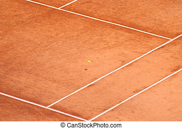 Tennis Court - Tennis Photography: View of the Tennis Court