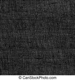black sackcloth texture closeup