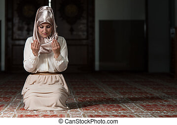 Prayer At Mosque