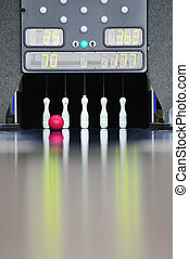 bowling fun strike lane bowl leisure speed target ball