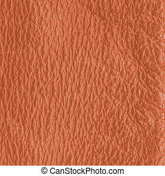 orange-brown leather closeup