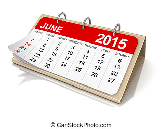 Calendar - June 2015 - Calendar year 2015 image Image with...