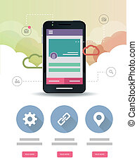 Cloud Mobile Application Web page