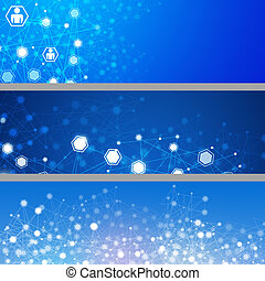 Abstract Network Banners