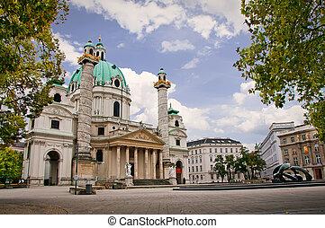 Karlskirche - Wiener Karlskirche, Vienna Austria