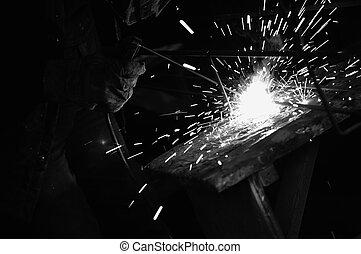 weldweldweld - weld machine worker hard industry...