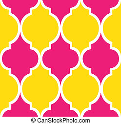 Seamless modern pattern 2 - Seamless modern pattern in pink,...