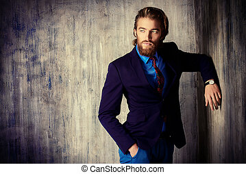confidence - Portrait of a respectable handsome man in a...