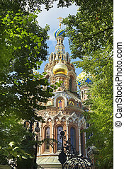 Savior on Spilled Blood, St Petersburg - orthodox church of...