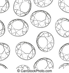 brilliant vector seamless pattern illustration clip art