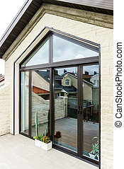 New sliding fiberglass doors for terrace - New sliding...
