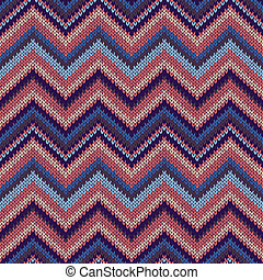 Fashion Color Swatch. Style Seamless Knitted Pattern