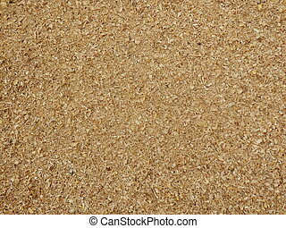 Sawdust - Close up of sawdust created by cutting logs