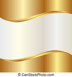 abstract background - gold and pearl abstract background