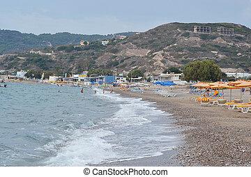 kefalos, Plaża