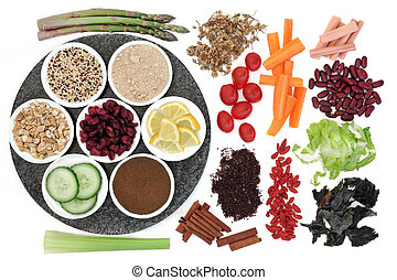 Diet Food - Large weight loss diet food selection in...