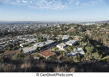 Hollywood Hills View - Morning view towards Century City...