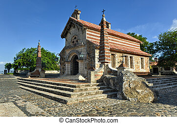 St Stanislaus Church , Altos de Chavon, La Romana, Dominican...