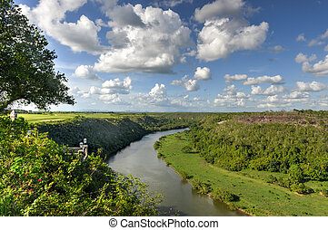 fiume, repubblica,  chavon, Domenicano