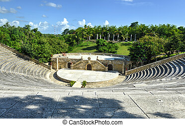Amphitheater, Altos de Chavon, La Romana, Dominican Republic...