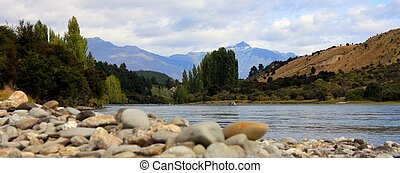 Mount Aspiring from Kluther River