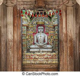 Jain, tempio, Jaisalmer, Rajasthan