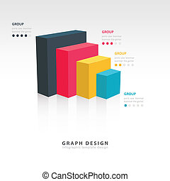 Vector for infographic or web design