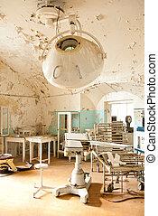 Old abandoned hospital photo