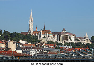 Fisherman bastion and Matthias church Budapest