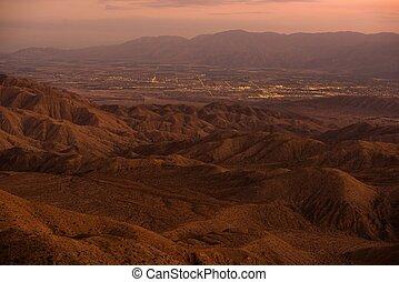 Indio and Coachella City in the Coachella Valley,...