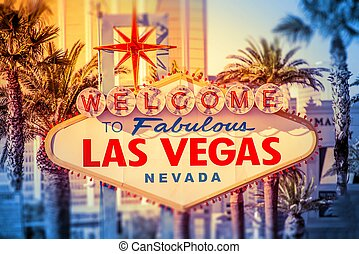 Vegas Welcomes You - Las Vegas Welcomes You Iconic Las Vegas...