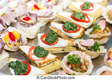 Delicious catering