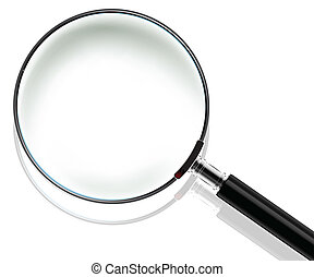 Magnifying Glass with shadow