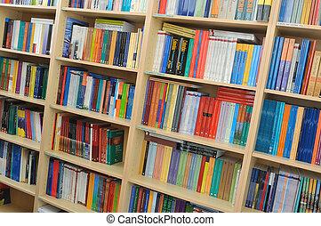 bibliotek, bok
