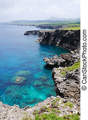 Cape Umahana in Yonaguni Island, Japan Cape Umahana in...