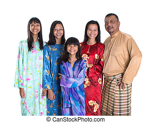 Asian Malay Parents With Daughters - Asian Malay parents...