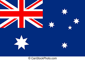Flag of Australia vector in eps10