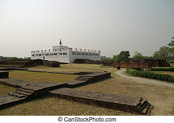Maya Devi temple in Lumbini, Nepal