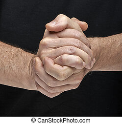 Two hands togheter meaning that all are done