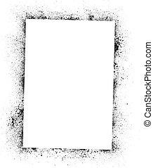 Ink blots frame