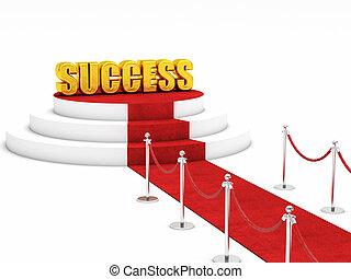 red carpet success