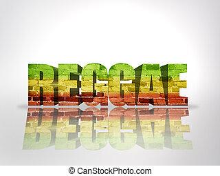 palavra, reggae